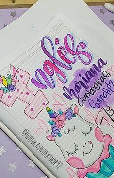 Bullet Journal Notes, Bullet Journal Writing, Bullet Journal School, Lettering Tutorial, Hand Lettering, Notebook Art, Grammar Book, Bubble Letters, Beautiful Notes