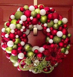 Handmade made to order ornament wreath  on Etsy, $65.00