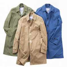 SHIPS ステンカラーコート Summer Collection, Raincoat, Jackets, Men, Shopping, Fashion, Rain Jacket, Down Jackets, Moda