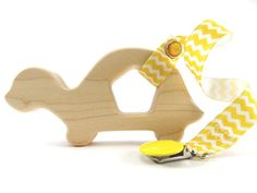 Turtle Wooden Baby Teether