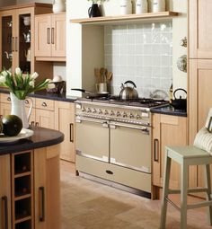 Rangemaster Elise SE range cooker. British made cooker with that French-twist.