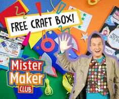 3 Great Craft Subscription Boxes for Kids (try 2 for free) Mister Maker