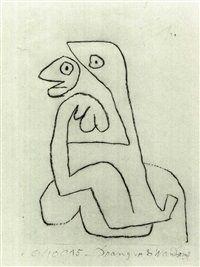 DRANG VOR DER WANDERUNG, 1940 Paul Klee