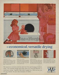 American Gas Association & Norge Gas Dryer