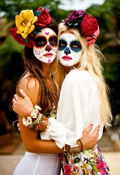 Halloween, friends, and mexico image