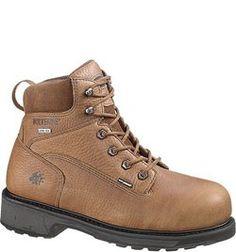 W02564 Wolverine Men's DuraShock Safety Boots - Brown