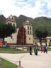 Huancavelica es una pequeña ciudad situada en la parte central de Perú.