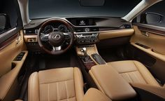 Photos and details on the new 2016 Lexus ES luxury sedan. Read more about the car and see photos at Car and Driver.