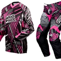 Answer women's motocross jersey and pants
