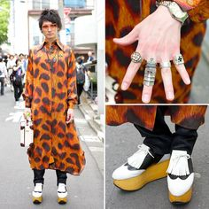 Harajuku guy's Vivienne Westwood outfit w/ leopard shirt, armor ring & rocking horse shoes http://tokyofashion.com/vivienne-westwood-harajuku-rocking-horse-shoes/… pic.twitter.com/UcRpzHjrM4