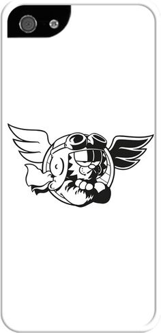 Pilot Garfield-Kendin Tasarla - İphone 5/5S Kılıfları