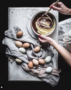 Chocolate Almond Marble Cake recipe with Butterscotch and Hot Fudge Sauce — Adventures in Cooking Amazing Food Photography, Cake Photography, Food Photography Styling, Food Styling, Cooking Photography, Chocolate Marble Cake, Almond Chocolate, White Chocolate, Tapas