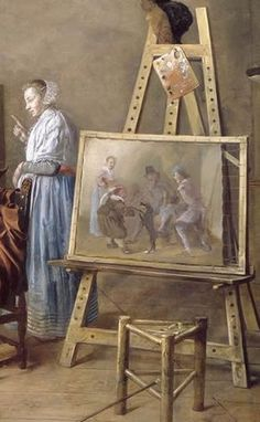 Painter in His Studio, Painting a Musical Company (detail) Jan Miense Molenaer 1631 Oil on canvas, 86 x 127 cm. Staatliche Museen, Berlin