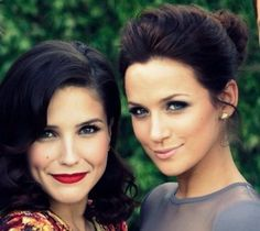 The makeup is great, really. But it's Brooke Davis and Quinn James. That's the reason to pin. Love.