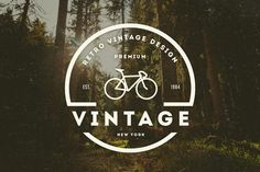 14 Vintage Logos & Badges by DesignDistrict on Creative Market