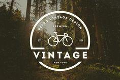 14 Vintage Logos & Badges by DesignDistrict on Creative Market