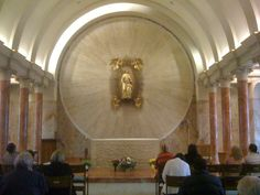 Basilica of the National Shrine of Mary, Help of Christians at Holy Hill. near Milwaukee.
