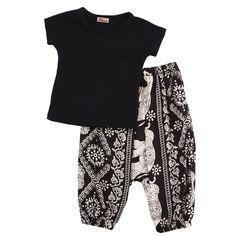 8baa352c73a39 Harper T-Shirt   Casual Pant Set (1-5 Years). Mode CoolFillesEnfantsTenuesNouveau  ...
