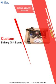 Present bakery items in Custom Bakery Gift Boxes to your loved ones on different occasions. #customboxes #thecustompackaging #custompackaging #bakerygiftboxes #USA #giftboxes