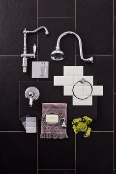 Give your bathroom some heritage with a splash of vintage chic from the Maestro range Bathroom Inspiration, Bathroom Inspo, Bathroom Designs, Tin Shed, Beaumont Tiles, House Made, House 2, Bathroom Collections, Hamptons House