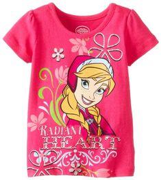 Disney Girls 2-6X Frozen Radiant Heart Tee, Charm Peony, 2T Disney http://www.amazon.com/dp/B00I95KYKY/ref=cm_sw_r_pi_dp_vjpOtb069PFTAYKF