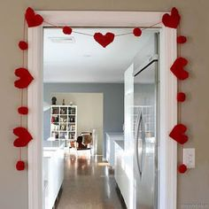 When it comes to Valentine's Day decor, think outside your average box of chocolates! Our Valentine's Day selection has bold reds and heartfelt styles that capture the style of the season. From pillows to banners, find the perfect Valentine's Day . Valentines Day Decorations, Valentines Day Party, Valentine Day Crafts, Be My Valentine, Holiday Crafts, Holiday Fun, Valentines Ideas For Boyfriend, Romantic Valentines Day Ideas, Saint Valentine