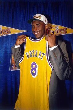 Así se presentó Kobe Bryant en la NBA