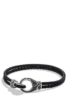 8d813f8477c David Yurman  Armory  Two-Row Bracelet available at  Nordstrom Men  Accesories