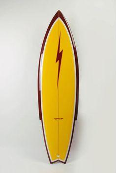 Need anything surf related? Surfboard Shapes, Surfboard Fins, Wooden Surfboard, Vintage Surfboards, Custom Surfboards, Lightning Bolt Logo, Longboard Design, Surf Design, California Surf