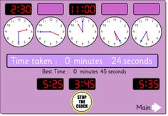 How to use the free Stop the Clock interactive game to engage ALL students and not just the student at the whiteboard