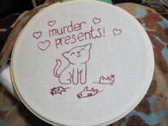 Stitchgasm! - Robyn Enz's Murder Presents - Mr X Stitch