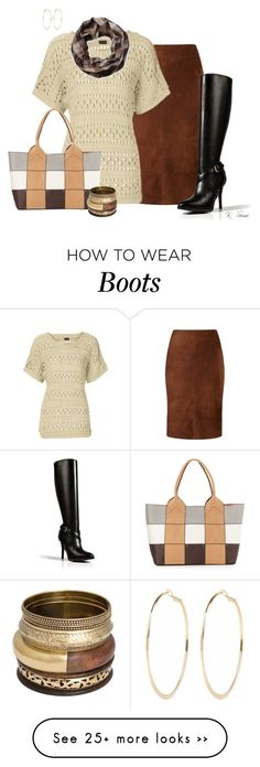 """""""Having Fun With Boots"""" by ksims-1 on Polyvore featuring Viyella, Oryany, Ralph Lauren Collection and River Island"""