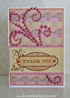 The Tamarisk: Published in Cardmaking, Stamping and Papercraft