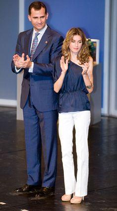Princess Letizia and Prince Felipe
