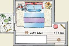 comment appliquer le feng shui dans votre chambre. Black Bedroom Furniture Sets. Home Design Ideas