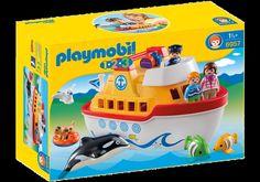 Playmobil 6957 1.2.3 My 1.2.3 Take Along Ship (1.5+) | eBay
