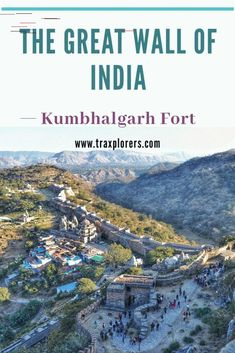 Visit the Great Wall of India, UNESCO World Heritage Site in Kumbhalgarh Rajasthan state of India with Traxplorers GreatWallofIndia WorldHeritageSite KumbhalgarhFort Rajasthan traxplorers 770185973759525650 Amazing Destinations, Travel Destinations, Travel Tips, Budget Travel, Travel Guides, States Of India, Worldwide Travel, India Travel, Incredible India