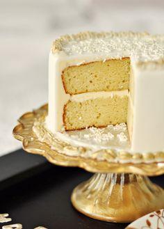 vanilla cake.