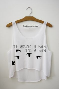 Again, another baggy short shirt, but this one has a stupid saying on it. We get it, it's cute and inspirational and somebody's probably got it as a tattoo, but who cares? It's stupid and definitely NOT cute!