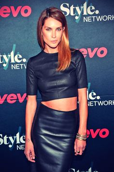 Erica Wasson attends the VEVO and Styled To Rock Celebration
