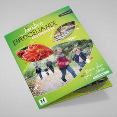 Dépliant - Les jardins de Brocéliande Creations, Cover, Books, Gardens, Nantes, Livros, Livres, Book, Blankets