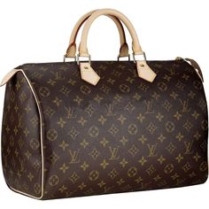 Dream Bag..... Louis Vuitton Speedy 35. Only problem is that it's about $350