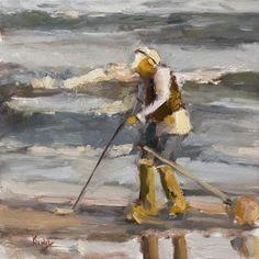 """Treasure Hunter"" original fine art by Randall Cogburn"