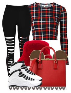 """Hello :D"" by trillest-queen ❤ liked on Polyvore featuring Glamorous, Dolce&Gabbana and Retrò"