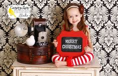 Cute Christmas photo idea!