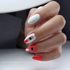 ⚪⚪⚪⚪⚫⚫⚫⚫#handmade#nailart#art#macro#nail#nailswag#instanails#gelnail#gel#naildesign#nailpolish#nailskorea#korea#Seoul#koreannails#комби#маникюр#дизайныногтей#гель-…