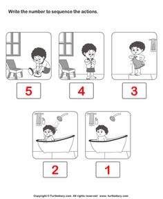 Looking for a Sequence Of Events Worksheets For Kindergarten. We have Sequence Of Events Worksheets For Kindergarten and the other about Benderos Printable Math it free. Story Sequencing Worksheets, Sequencing Pictures, Kids Math Worksheets, Sequencing Activities, Reading Worksheets, Free Printable Worksheets, Sequencing Events, Science Activities, Sequence Of Events Worksheets