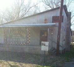 """Ghost Town"" in Arkansas"