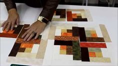 Aula 18 - Patchwork sem Segredos - Log Cabin