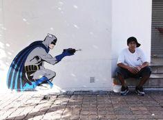 Artist D'Face - street art